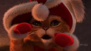 Шрек и рождество кот