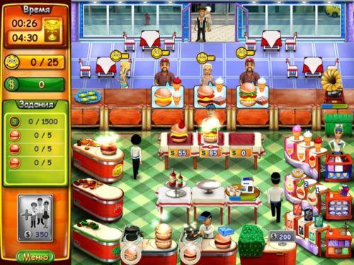 игра Бургер Мания_burger mania
