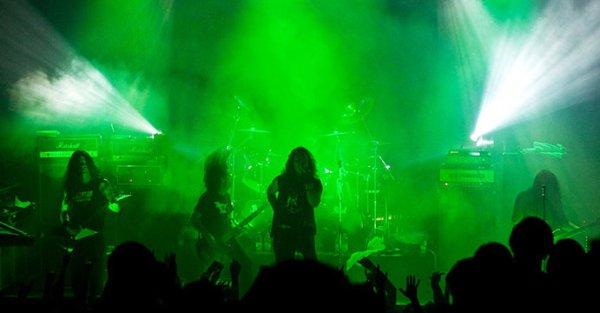 Moonspell концерт в Минске